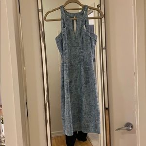 Baby blue dress, hardly worn